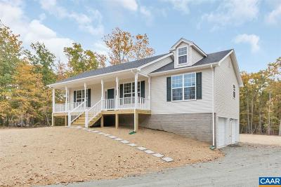 Ruckersville Single Family Home For Sale: 2031 Swift Run Rd