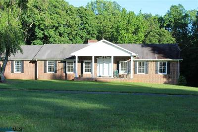 Fluvanna County Single Family Home For Sale: 7000 Venable Rd