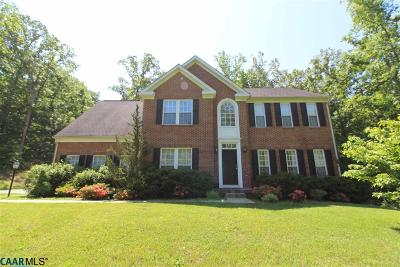 Louisa Single Family Home For Sale: 247 Reedy Creek Rd
