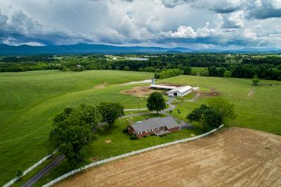 Rockingham County Farm For Sale: 5868 E Timber Ridge Rd