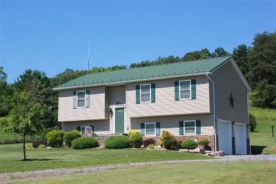 Bridgewater Single Family Home Sold: 10909 Cook Town Rd