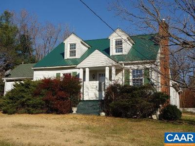 Nelson County Single Family Home For Sale: 12689 Thomas Nelson Hwy