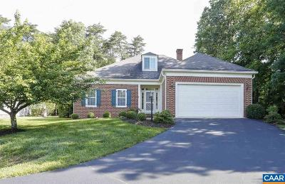 Glenmore (Albemarle) Single Family Home For Sale: 3396 Dunscroft Ct