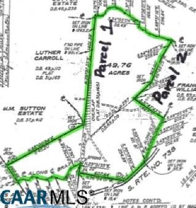 Buckingham County Lots & Land For Sale: Pond Rd