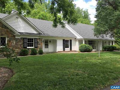 Fluvanna County Single Family Home For Sale: 6904 James Madison Hwy