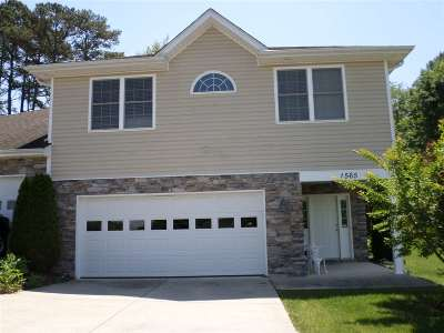 Harrisonburg Townhome For Sale: 1565 Edgerton Ct