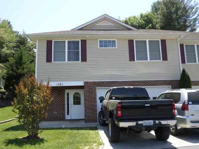 Harrisonburg Townhome For Sale: 1581 Edgerton Ct