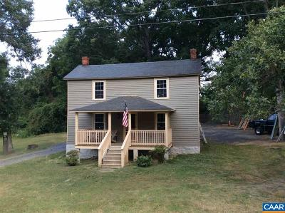 Buckingham County Single Family Home For Sale: 29253 James Madison Hwy