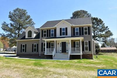 Gordonsville Single Family Home For Sale: Lot 6a Bowlers Mill Lane