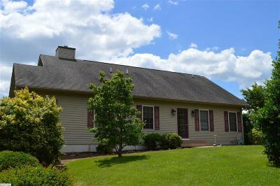Augusta County Single Family Home For Sale: 165 Howardsville Rd