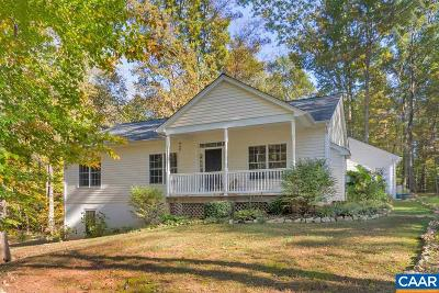 Barboursville VA Single Family Home For Sale: $315,000