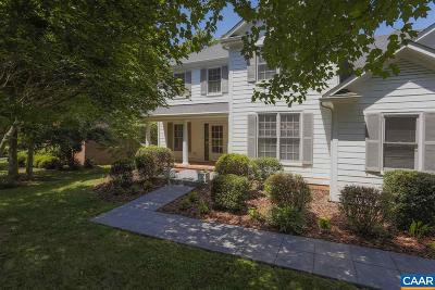 Glenmore (Albemarle) Single Family Home For Sale: 3633 Victoria Ln