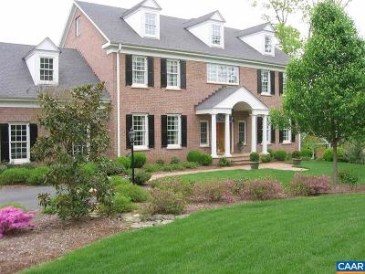 Glenmore (Albemarle) Single Family Home For Sale: Carroll Creek Rd