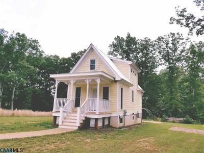 Louisa County Single Family Home For Sale: 119 Old Cc Rd