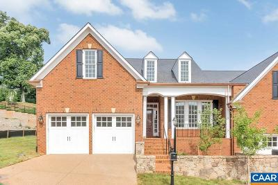 Charlottesville Townhome For Sale: 835 Colridge Dr
