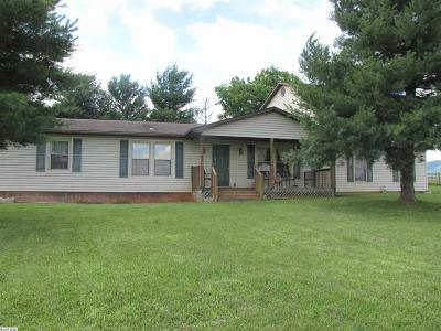 Augusta County Single Family Home For Sale: 4700 Morris Mill Rd