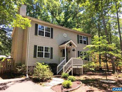 Fluvanna County Single Family Home For Sale: 3 Hardwood Rd