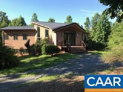Esmont Single Family Home For Sale: 3023 Alberene Church Ln