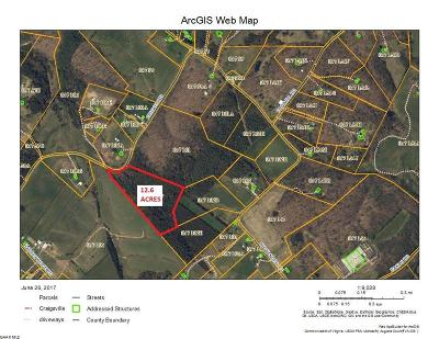 Staunton Lots & Land For Sale: 12.5 Ac Cricket Rd