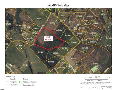 Staunton Lots & Land For Sale: 25.8 Ac Cricket Rd