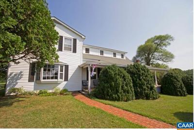 Albemarle County Farm For Sale: 6429 A Markwood Rd