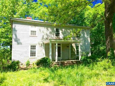 Scottsville VA Farm For Sale: $485,000