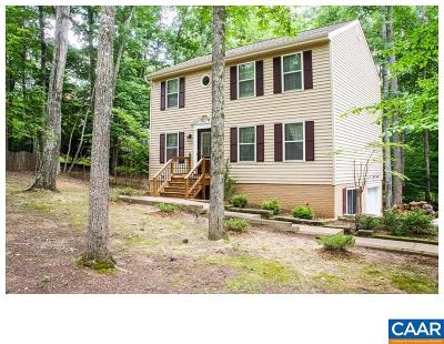 Fluvanna County Single Family Home For Sale: 68 Amethyst Rd