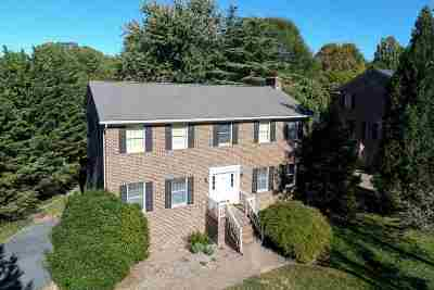 Harrisonburg Single Family Home For Sale: 120 Fairway Dr