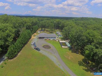 Fluvanna County Single Family Home For Sale: 601 Union Mills Rd