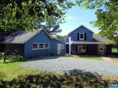 Albemarle County Single Family Home For Sale: 862 Campbell Rd