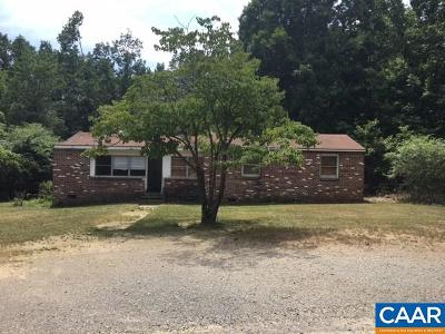 Fluvanna County Single Family Home For Sale: 53 Smith Ln