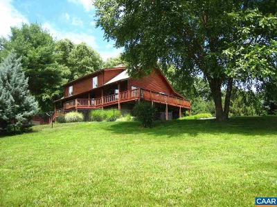 Nelson County Single Family Home For Sale: 1246 Carter Hill Rd