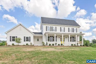 Albemarle County Single Family Home For Sale: Lot 11 Silas Jackson Ln