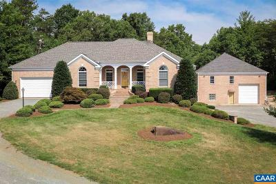 Charlottesville Single Family Home For Sale: 3294 Doctors Xing
