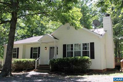 Fluvanna County Single Family Home For Sale: 6 Choctaw Pl
