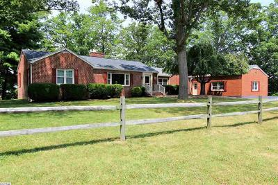 Staunton Single Family Home For Sale: 736 Hillcrest Dr