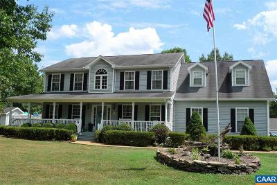 Fluvanna County Single Family Home For Sale: 31 Beaver Lake Dr