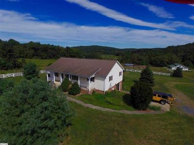 Staunton Single Family Home For Sale: 419 White Oak Gap Rd