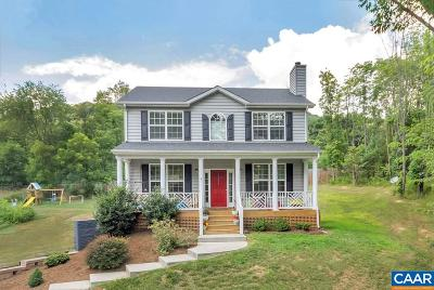 Crozet Single Family Home For Sale: 1374 Lanetown Rd