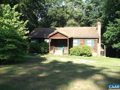 Fluvanna County Single Family Home For Sale: 5 Kiowa Ln