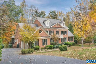 Charlottesville Single Family Home For Sale: 2525 Wind River Rd