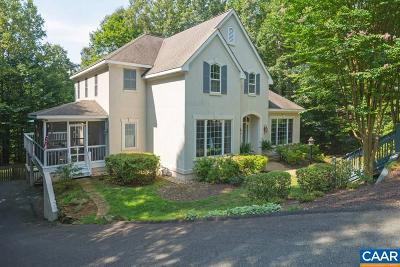 Albemarle County Single Family Home For Sale: 1317 Blackburn Way