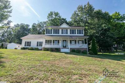 Stuarts Draft Single Family Home For Sale: 241 Cranberry Dr