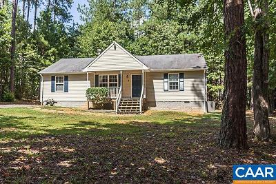 Fluvanna County Single Family Home For Sale: 4 Lafayette Dr