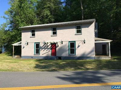 Albemarle County Single Family Home For Sale: 4983 Irish Rd