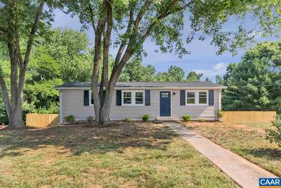 Single Family Home For Sale: 5522 Three Notch'd Rd
