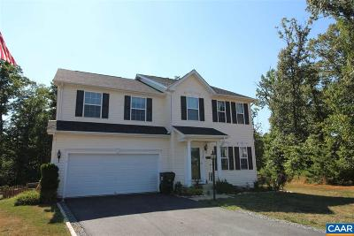 Fluvanna County Single Family Home For Sale: 116 Robins Ct