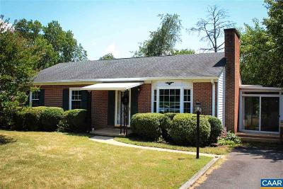Albemarle County Single Family Home For Sale: 320 Brentwood Dr