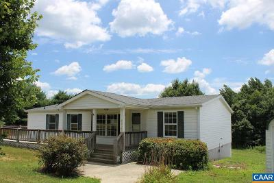 Scottsville Single Family Home For Sale: 656 Branch Rd