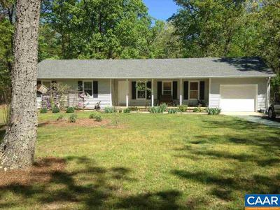 Scottsville Single Family Home For Sale: 151 Blue Mountain Ln